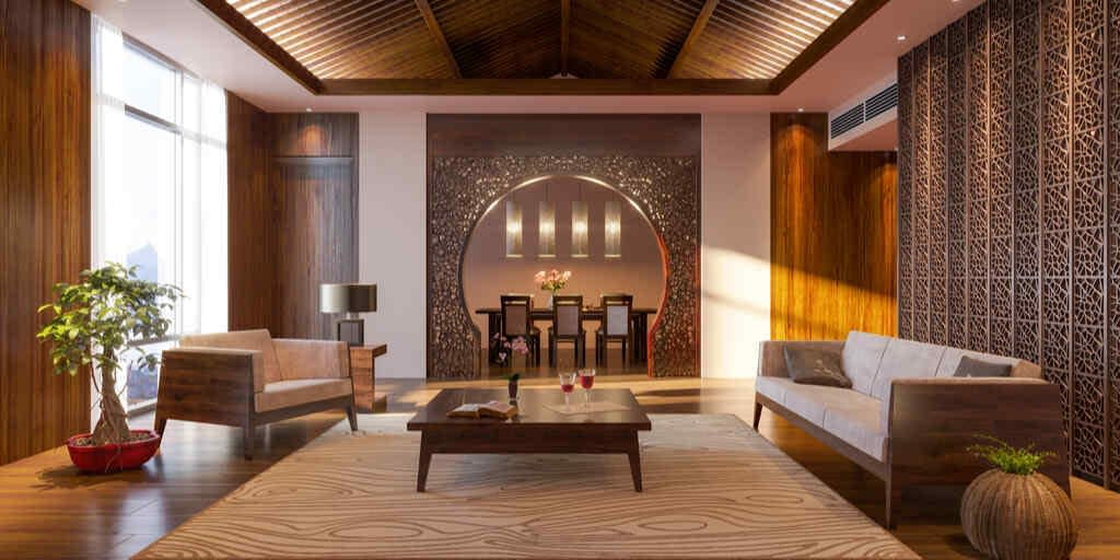 Asian Zen Interior Design Style: