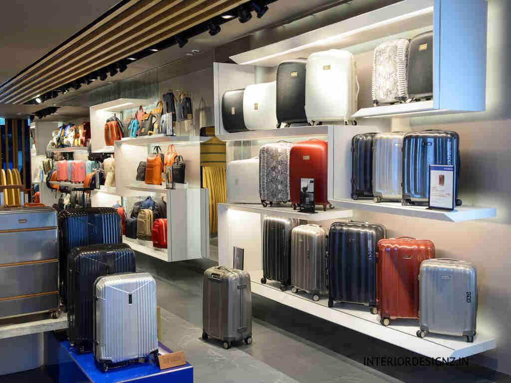 Handbag and suitcase showroom