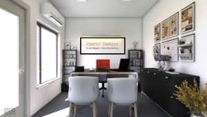 Home office Residential Interior Designing