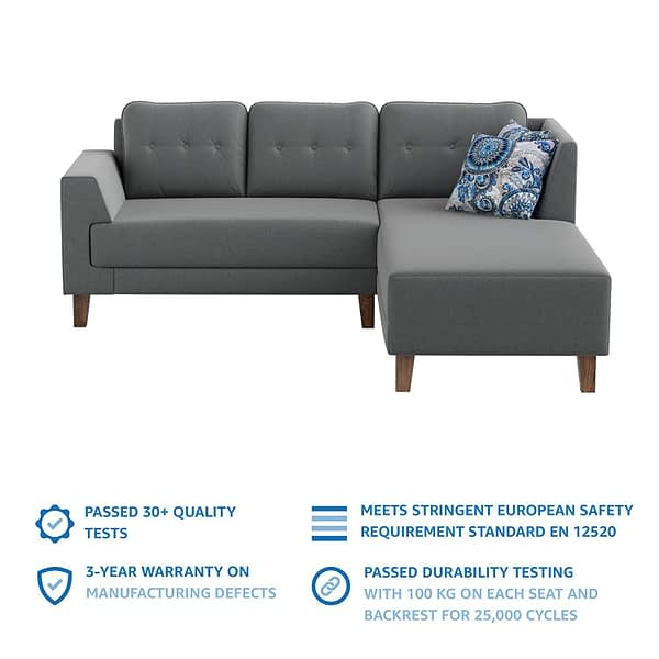 L Shape sofa 2
