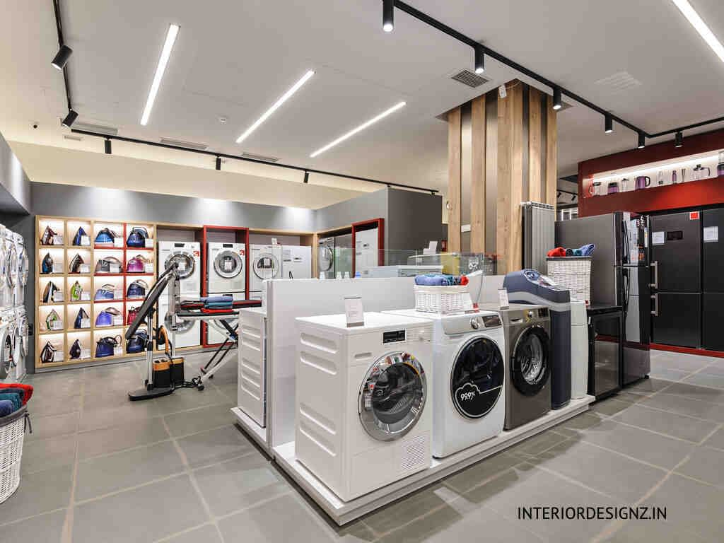 Electrical and electronic showroom