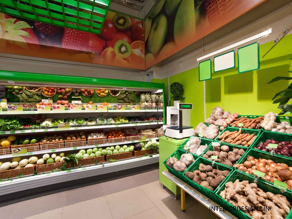 Vegetable and Fruits Store Interiors