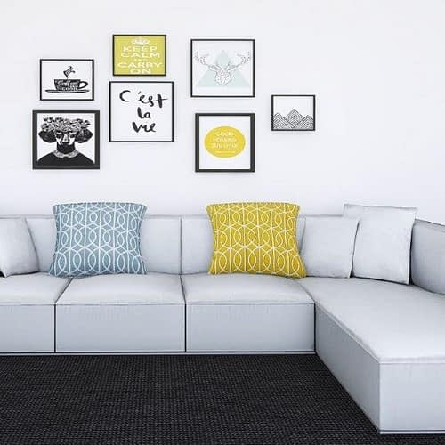Sectional sofa- 4